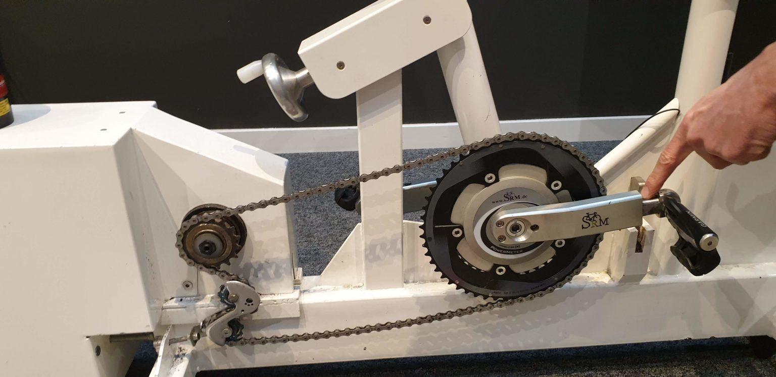 Capteur puissance vélo étude posturale