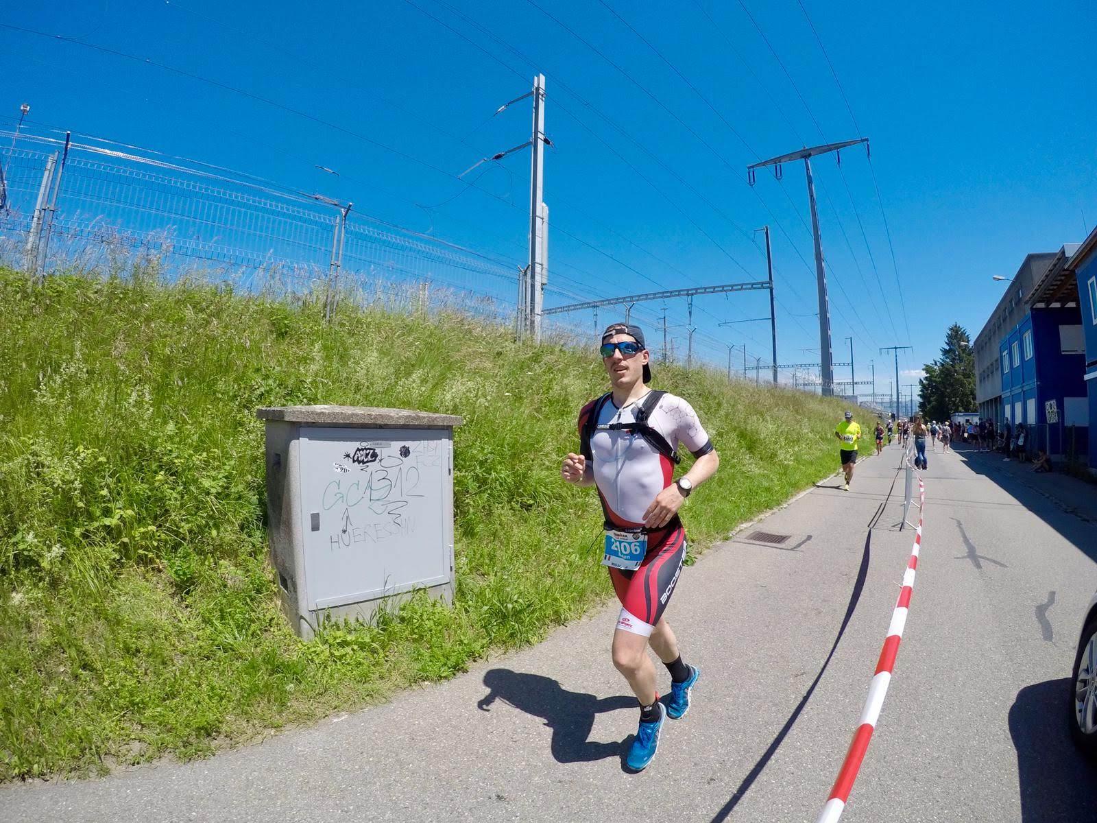 Melen Aussel Half Iron man Zurich