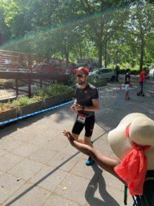 Thibault Montanier course à pied triathlon M Paris 2019