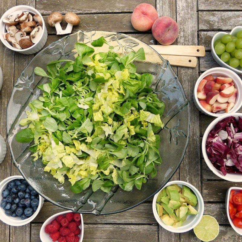 Alimentation sportive les légumes