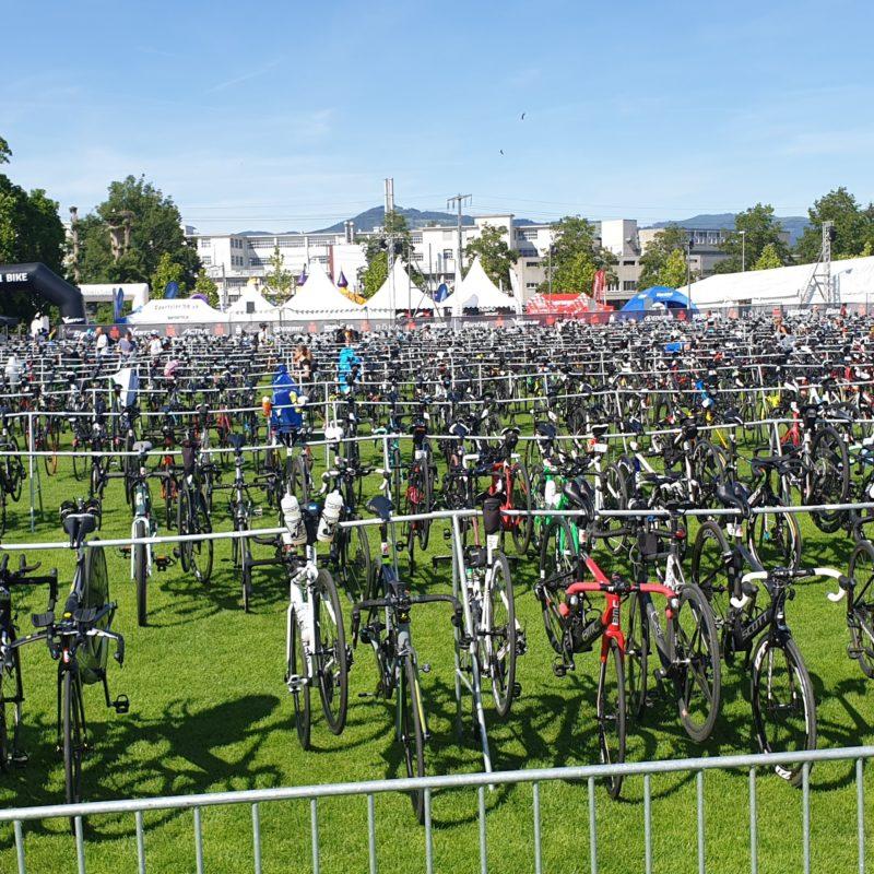 parc à vélo Ironman Zurich