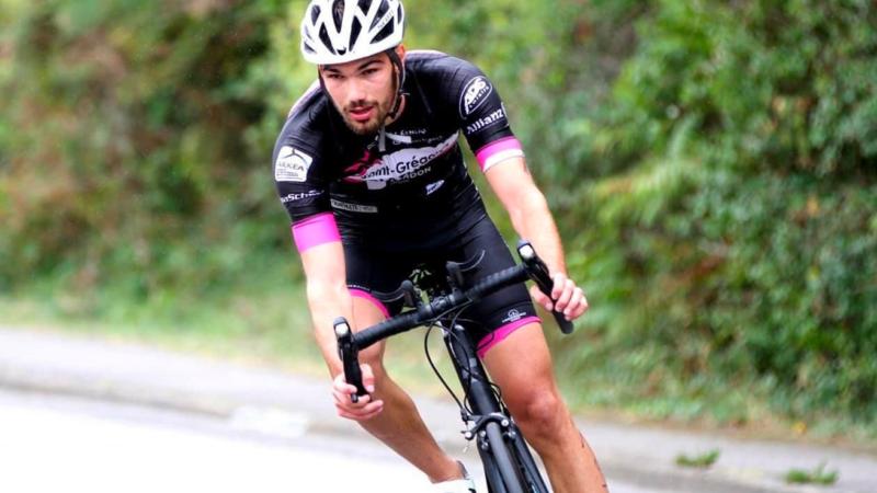 Vélo triathlon étienne Gabriel