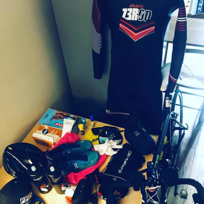 équipement triathlon Thibault