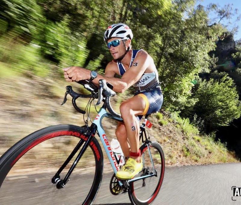 Olivier Marceau, champion du monde de Triathlon