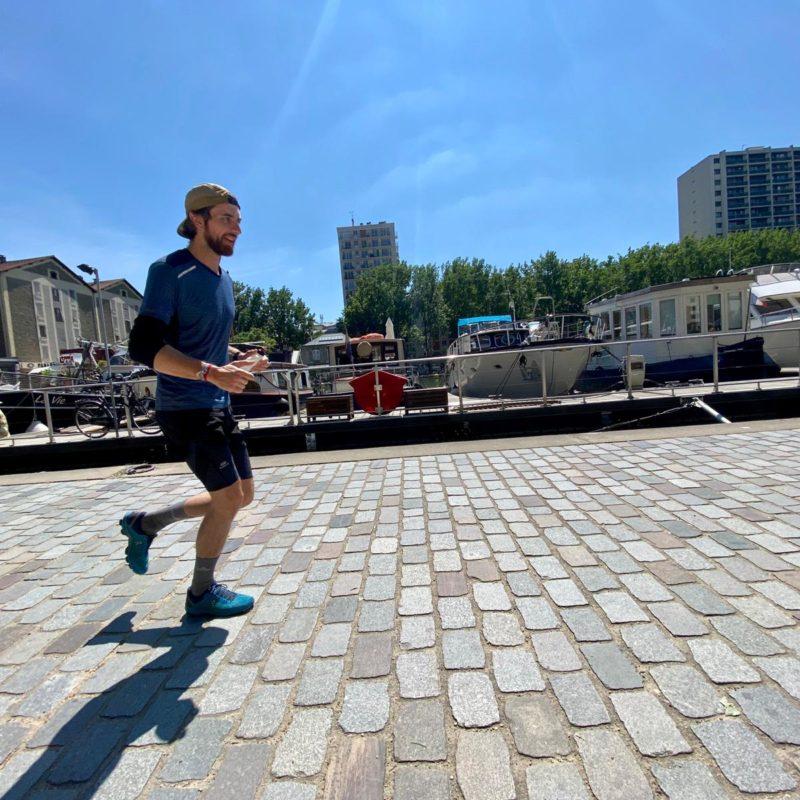 thib course à pied canal