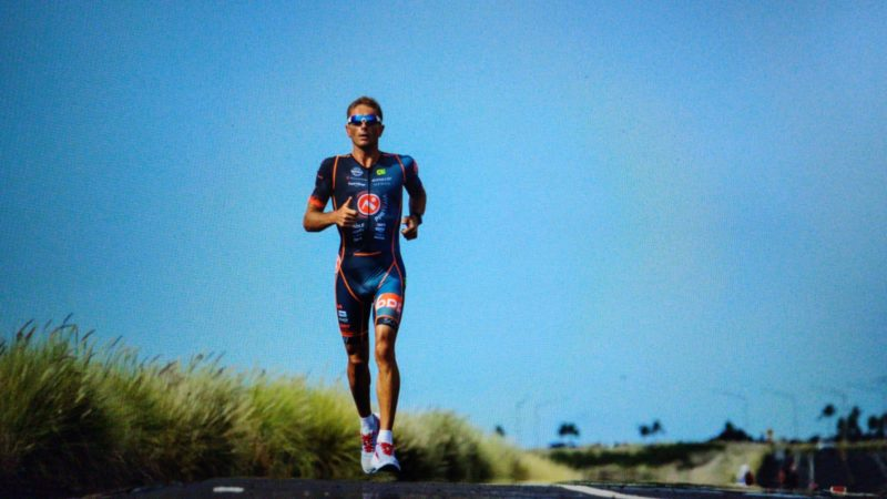 Cyril Viennot triathlète pro course à pied