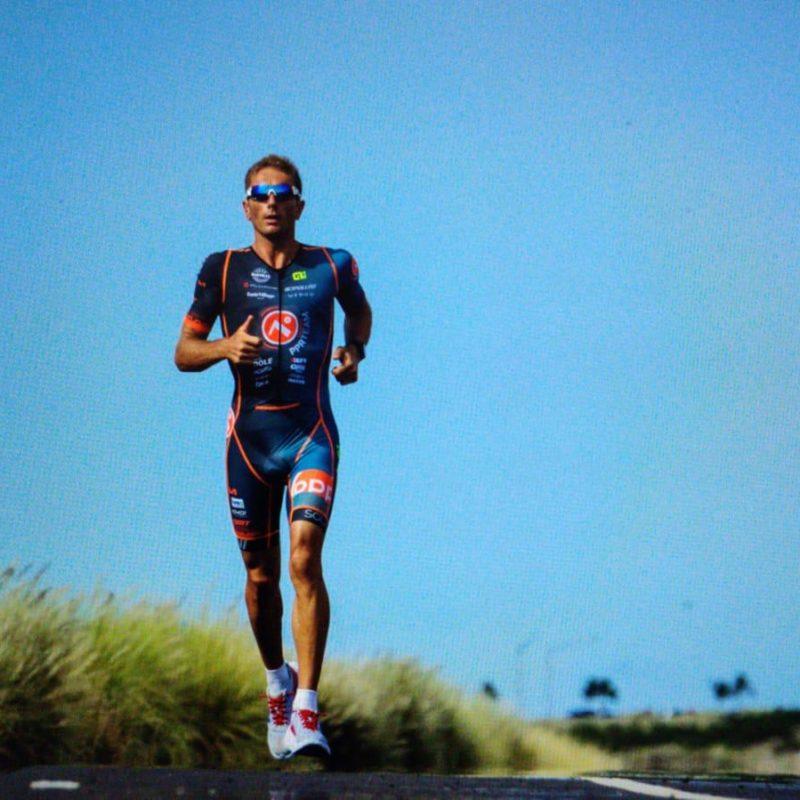 Cyril Viennot triathlète pro course à pied