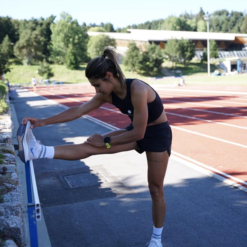 Charlène clavel running